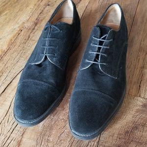 Jos. A. Bank Shoes - Joseph A Banks Black Suede shoes